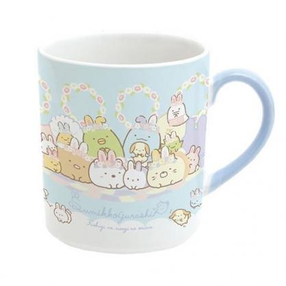 小禮堂 角落生物 日製 陶瓷馬克杯 咖啡杯 茶杯 陶瓷杯 (藍 復活節)