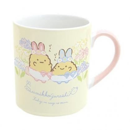 小禮堂 角落生物 日製 陶瓷馬克杯 咖啡杯 茶杯 陶瓷杯 (黃 復活節)