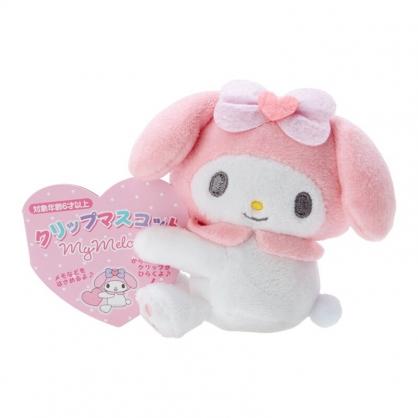小禮堂 美樂蒂 迷你絨毛玩偶 玩偶萬用夾 夾式玩偶 娃娃夾子 (粉 2021角色大賞)