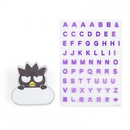 小禮堂 酷企鵝 造型壓克力名牌徽章 附貼紙 名牌胸章 姓名牌 胸牌 (灰 2021角色大賞)