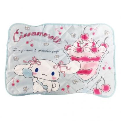 小禮堂 大耳狗 涼感枕頭套 涼感枕巾 冷感枕套 涼感寢具 43x60cm (藍 聖代)