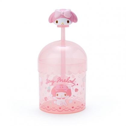 小禮堂 美樂蒂 圓形透明洗面乳起泡器 手動起泡器 洗臉幕斯 幕斯瓶 (粉)