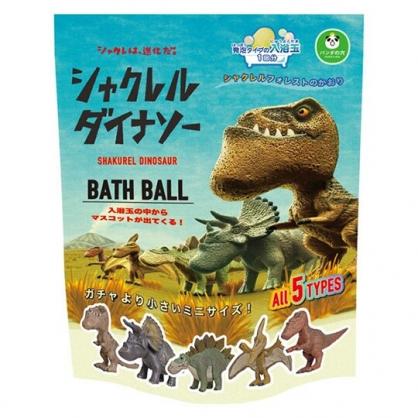 小禮堂 戽斗星球 入浴球 入浴劑 泡澡球 沐浴球 (5款隨機 綠 暴龍)