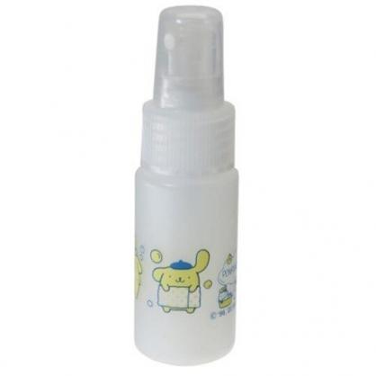 小禮堂 布丁狗 隨身透明噴霧空瓶 塑膠噴霧罐 酒精噴瓶 分裝瓶 30ml (黃 洗澡)