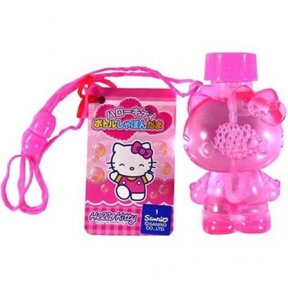 小禮堂 Hello Kitty 造型吹泡泡玩具 泡泡水 沙灘玩具 戶外玩具 (粉 站姿)