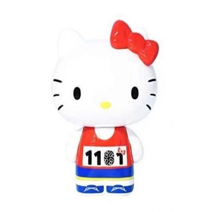 小禮堂 Hello Kitty 造型塑膠公仔 蒔繪公仔 藝術公仔 紀念公仔 Variarts (紅 1101)