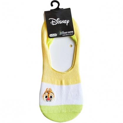 小禮堂 迪士尼 蒂蒂 成人隱形襪 腳長23-25cm (條紋款)