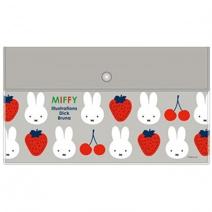 小禮堂 米飛兔 日本製 抗菌口罩包 (草莓款)