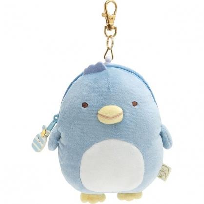 小禮堂 角落生物 伸縮票卡包 (藍企鵝款)