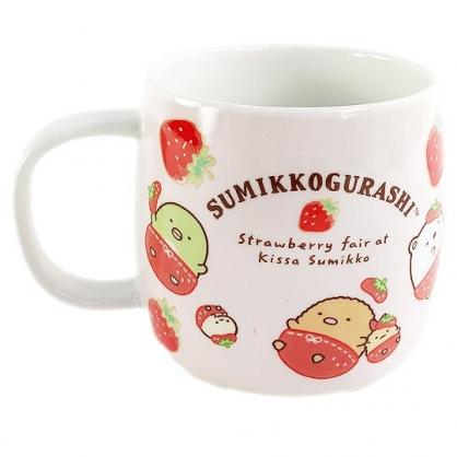 小禮堂 角落生物 陶瓷馬克杯 (草莓款)