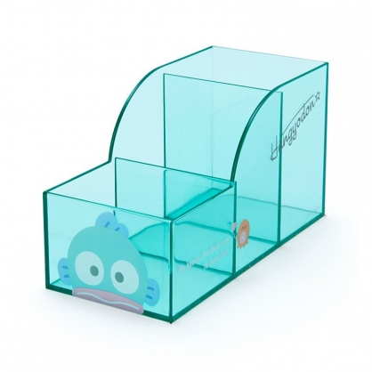 小禮堂 人魚漢頓 透明三格筆筒 (果凍文具系列)