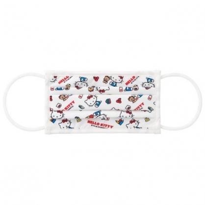 小禮堂 Hello Kitty 涼感布口罩 (白奶瓶款)