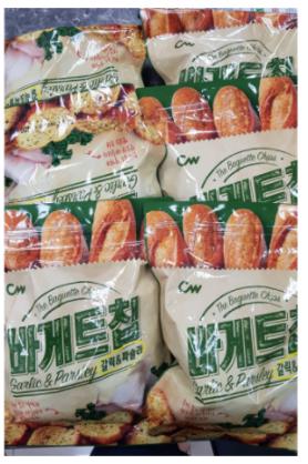 韓國大蒜奶油風味餅乾