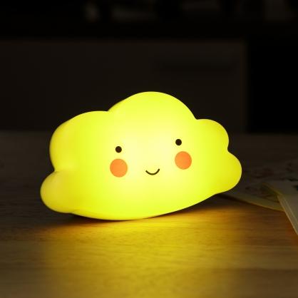 雲朵智能遙控小夜燈-黃光