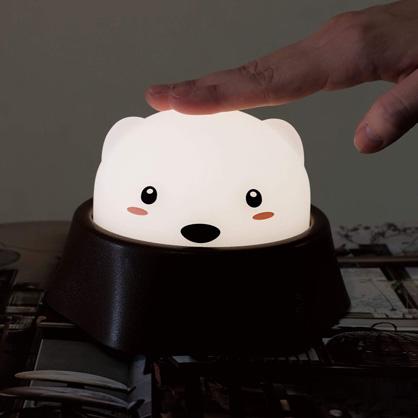 地鼠LED互動小夜燈-腮紅