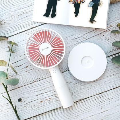 【畢業季免費雷雕】USB手持風扇-白色