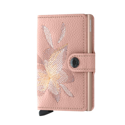 Secrid Miniwallet Stitch Magnolia Rose