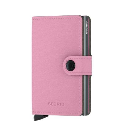 SECRID Yard 單層 防盜刷 環保擬真皮革皮夾(粉色)