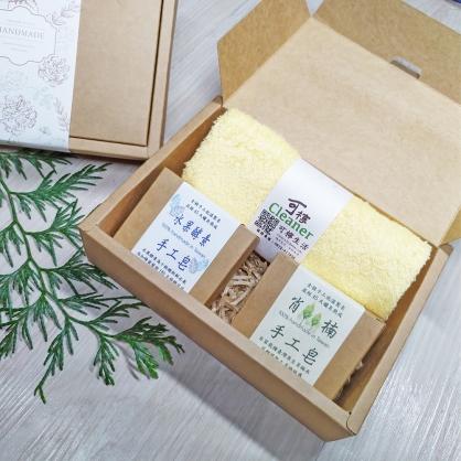 沐恩手工皂禮盒