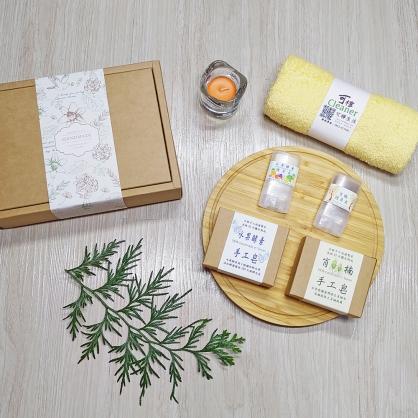 沐澤手工皂禮盒