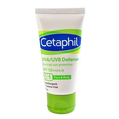 【Cetaphil舒特膚】極緻全護低敏防曬霜SPF50+ 50g