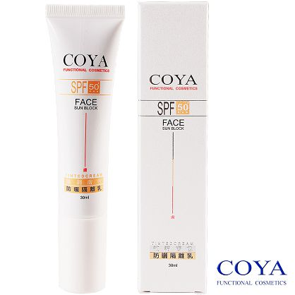 【COYA克亞】SPF50+微調膚色防曬隔離乳(膚) 30ml