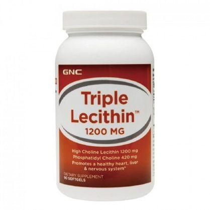 【GNC 健安喜】三效卵磷脂膠囊1200mg(90顆)