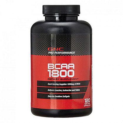 【GNC 健安喜】支鏈胺基酸1800膠囊食品(120顆)
