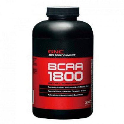 【GNC 健安喜】支鏈胺基酸1800膠囊食品(240顆)