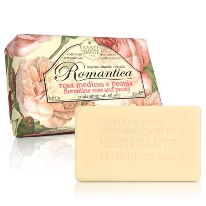 【Nesti Dante那是堤】佛羅倫玫瑰牡丹皂 250g