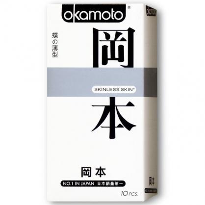 【Okamoto 岡本】蝶的薄型衛生套10入/盒