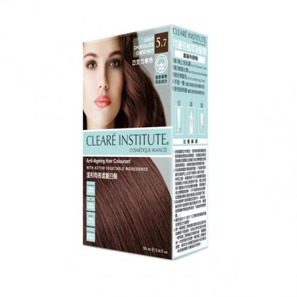 【CLEARE INSTITUTE】可麗兒植萃染髮劑5.7 巧克力棕色(155ml)