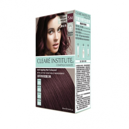 【CLEARE INSTITUTE】可麗兒植萃染髮劑5M 棕紅色(155ml)