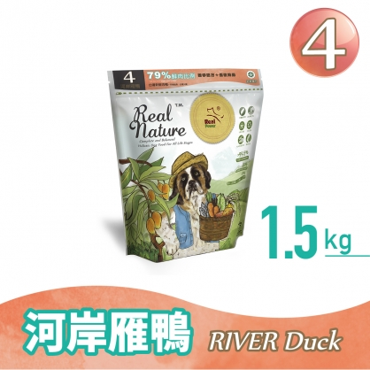 Dog Food No.4 River Duck 1.5kg