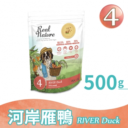 Dog Food No.4 River Duck 500g