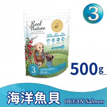 幼犬3號 海洋魚貝 500g