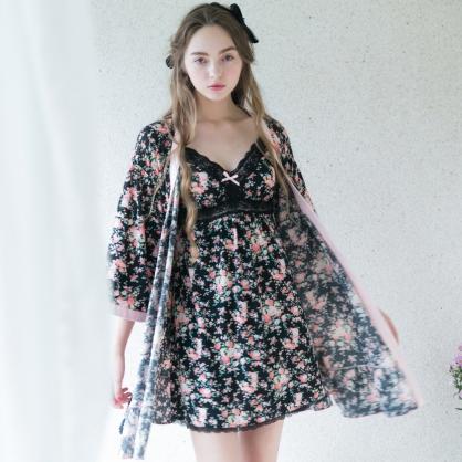 日系花之戀外袍