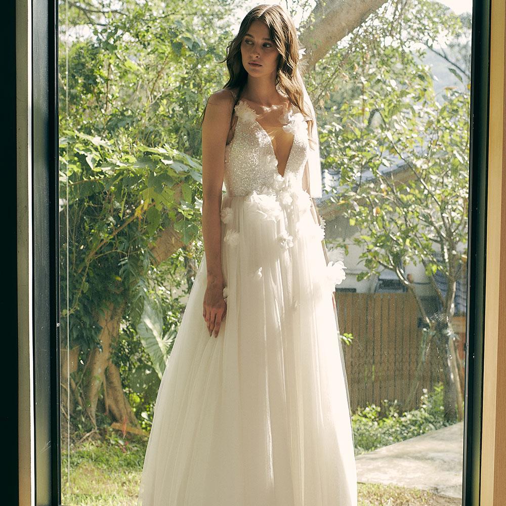 Chloe極光精靈綻放婚紗