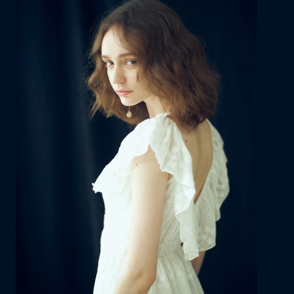 Lily莉莉波西米亞繡花洋裝