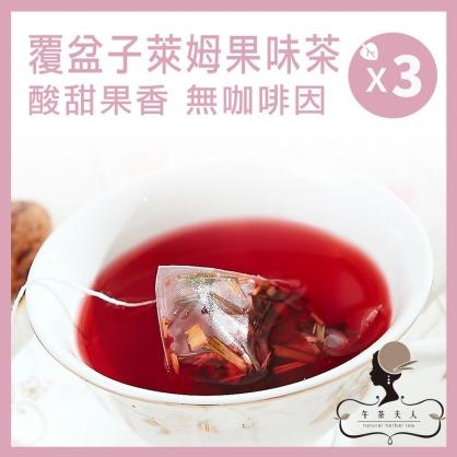 覆盆子萊姆果味茶 8入/袋 x3