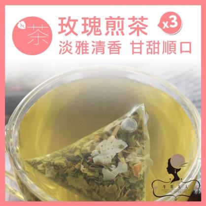 玫瑰煎茶 10入/袋 x3