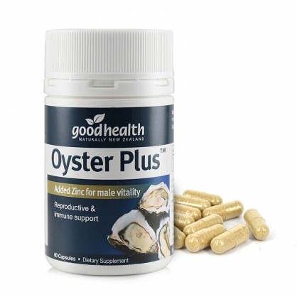 紐西蘭 Good health Oyster Plus 60s 好健康 牡蠣精 60粒