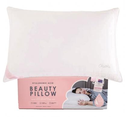 紐西蘭 Okioki Beauty Pillow 坡尿酸美顏枕-粉色精裝款