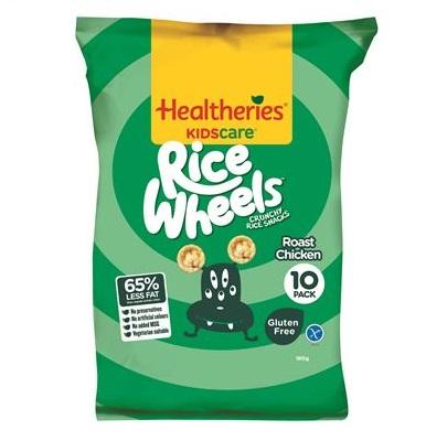 Healtheries KIDscare 賀壽利米圈 雞肉口味 無麩質 健康小點心