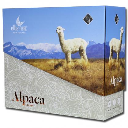 紐西蘭 Ellis Fibre Alpaca Duvet 雙人Queen羊駝被 400gsm