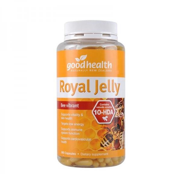 紐西蘭 Goodhealth Royal Jelly 1000mg 365s 好健康 蜂王漿膠囊 365粒裝