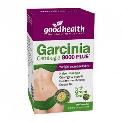 紐西蘭 Goodhealth Garcinia Cambogia 9000 Plus 60s 好健康 藤黃果9000膠囊 60粒