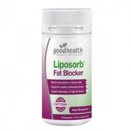 紐西蘭 Goodhealth Liposorb Fat Blocker 70s 好健康 脂肪吸收劑膠囊 70粒