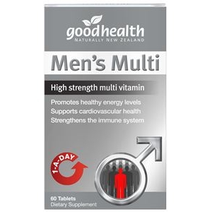 紐西蘭 Goodhealth Men's Multi 60s 好健康 男綜合維生素錠 60粒