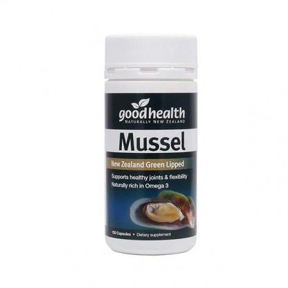 紐西蘭  GoodHealth Mussel 150s 好健康 貽貝膠囊 150粒